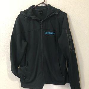 Shimano Men's Black Jacket Size L